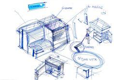 #sketch #hand #drawing #technical #design #idea #pen
