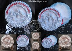 Christmas Round 3d Card All file formats by forevermemoriesforyo on Etsy