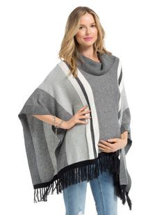 Motherhood Maternity Jessica Simpson Sleeveless Poncho Maternity Pull Over