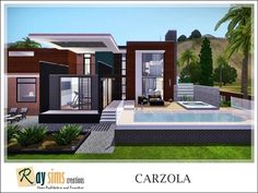 Cazorla house by Ray_Sims - Sims 3 Downloads CC Caboodle