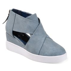 83ca012a57b77 Journee Collection Journee Collection Seena Women s D Orsay Wedge Sneakers
