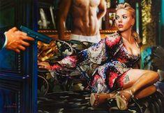 Spanish artist, Tos Kostermans