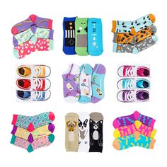 Amp up your socks collection with fun, novelty socks from LittleMissMatched! Our crazy, mismatched socks add instant style and fun. Snag a pack or two today! Funky Socks, Colorful Socks, Novelty Socks, Girls Socks, No Show Socks, Tween, Amp, Cute, Kids