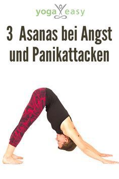 Yoga bei Angst und Panikattacken – mit 3 Asanas Yoga for anxiety and panic attacks: calm these asana Yoga Yin, Yoga Ashtanga, Bikram Yoga, Asana, Yoga Inspiration, Yoga Fitness, Fitness Workouts, Physical Education, Health Education