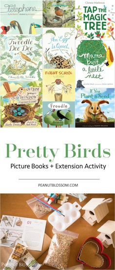 Bird nature study printables learning about birds bird theme bird themed books for kids and the cutest ever extension activity to go with them fandeluxe Images