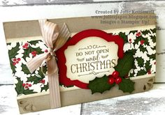 Julie Kettlewell - Stampin Up UK Independent Demonstrator - Order products 24/7: Gift Vouchers and Christmas Wish List 2015