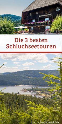 Der größte See im Schwarzwald, lädt zum Wandern, Baden und Verweilen ein. Hier gibt es die 3 besten Touren rund um den Schluchsee.