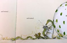 """""""waiting"""" illustration in a children's book"""