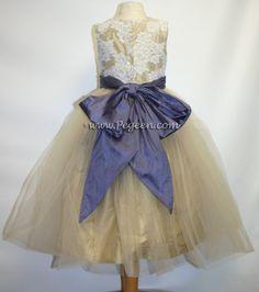 have mom make flower girl dress similar to this