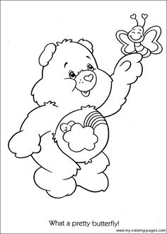 "care bears ""Bashful Heart Bears"""