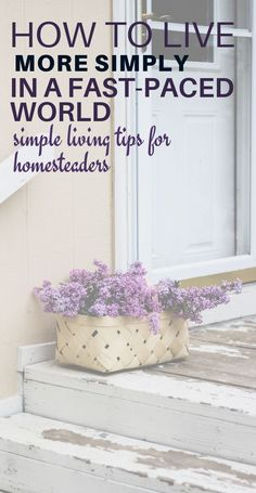 Tired of the rat race and pressure of modern society? Click now to get these 10 actionable steps you can take towards simple living today! Embrace the slower and happier simple living lifestyle. Slow Living, Frugal Living, Simple Living, Natural Living, What Is Homestead, Vegan Starbucks Drinks, Living Vintage, Minimalist Living, Simple Pleasures