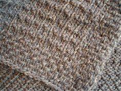 Elegant Lap Rug, free knitting pattern