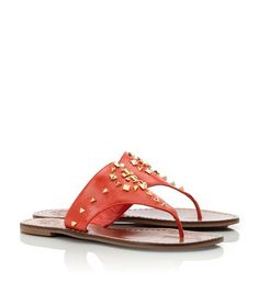 Late Christmas present!  Luv me'!  Dale Thong Sandal | Womens Sandals | ToryBurch.com