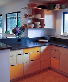 plywood kitchen