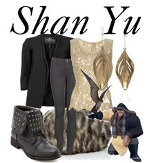 Shan Yu by bryannnne on Polyvore