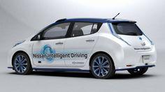 Nissan ya comenzó a probar su prototipo de vehículo autónomo en rutas y calles de ciudad.