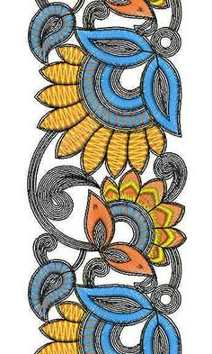 Cotton Cloths for Women | Embroidery Design