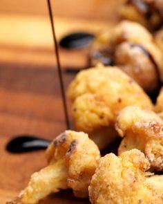 Cauliflower Bites, Cauliflower Recipes, Veggie Recipes, Healthy Cooking, Healthy Foods, Cooking Recipes, Best Appetizers, Appetizer Recipes, Delicious Vegan Recipes