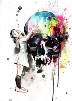 Watercolors byLora Zombie