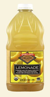 trader joes lemonade