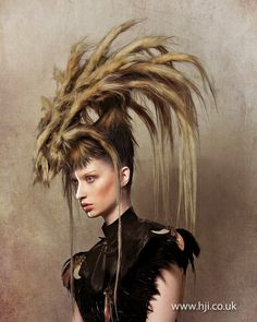 Robert Masciave 2012 Avant Garde Hairdresser of The Year Finalist - Hairdressers Journal