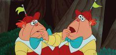 Tweddle Dee and Tweddle Dum (Alice In Wonderland)