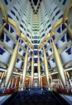 Burj Al Arab Hotel, Dubai, interior design by Khuan Chew of KCA International