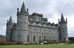 Inverary Castle, Scotland by Peter Cook UK, via Flickr