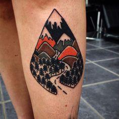 #tattoofriday - 'Bold Traditional Tattoos' by Matt Cooley