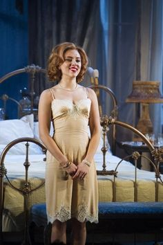 Scarlett Johansson as Maggie the Cat in a revival of Tennessee Williams' 1955 classic, which opened Jan. 17, 2013, at the Richard Rodgers Theatre.