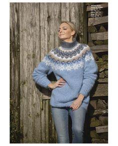 "2027-2a ""Nova""-genser Alpaca Maya Vikings, Alpacas, Norway, Turtle Neck, Pullover, Knitting, Sweaters, Design, Fashion"