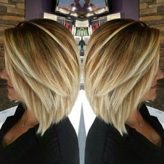 Inverted Blonde Fine Hair Bob Haircut, bob haircuts for fine hair,inverted bob…
