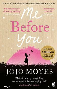 Me Before You by Jojo Moyes, http://www.amazon.co.uk/dp/0718157834/ref=cm_sw_r_pi_dp_lYWatb172N091 Mae angen pecyn o hancesi i fynd gyda'r llyfr hwn!