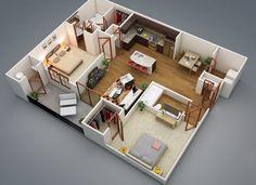 2 Bedroom Granny Flat Designs  Httpsbedroomdesign2017 Impressive 2 Bedroom House Interior Designs Decorating Inspiration