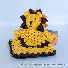 Ravelry: Lion Security Blanket pattern by Carolina Guzman