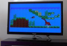 alex kidd - le meilleur jeu du monde , inclu dans la sega master system 2 dans les années 80, aujourd'hui en 2013 sur ecran plat, le rendu est top :-)