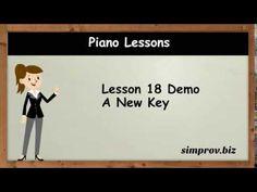 Piano Lesson 18 Demo - A New Key