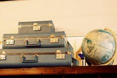 thanks mom for instilling a love of vintage suitcases in me!