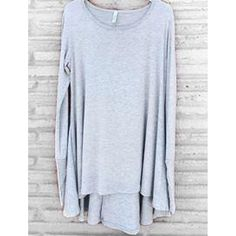 """I really liked this one Grey Thumb Hole T...  """"SAVE10"""" at checkout http://whurk.net/products/grey-thumb-hole-tunic?utm_campaign=social_autopilot&utm_source=pin&utm_medium=pin  #INSTAFASHION"""