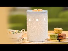 The Scentsy Lace Warmer - check out my review on this beautiful porcelain Electric Wax Warmer and to purchase your own Lace Scentsy Warmer CLICK HERE - https://martinawright.scentsy.ie