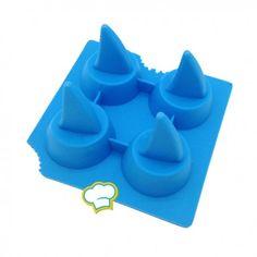 Siliconen mal voor ijs 'Haaienvin'