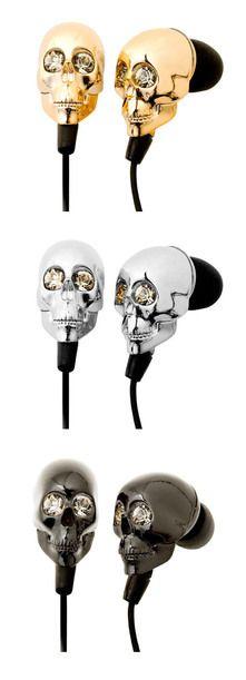headphone skull: Sparkle for the ears ;)
