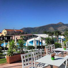 Wonderful #sunny #morning at Bar Bikini in Loano 2 Village! #loano2village #sunnyday #sunshine #summer #holidays #visitriviera #pools #resort #liguria #italy #bluesky