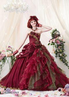 カラードレス|ブライダルレンタル衣裳店 マリエラグラス