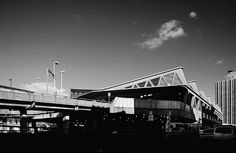 George Washington Bridge Bus Terminal   in Washington Heights, New York   by Pier Luigi Nervi in 1963