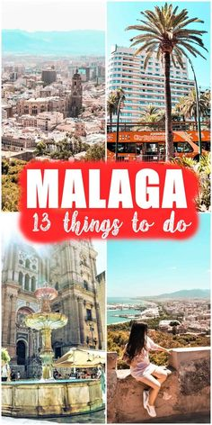 Malaga is the classic destination for a successful holiday in Spain. The city with a mild climate, with 300 sunny days a year, with fortresses, castles, cathedrals, orange flavor, parrots flying free, and Arab influences is the perfect getaway in any season. Malaga | spain | best things to do in malaga | places in malaga | malaga travel guide | malaga attractions #malaga #malagaspain #malagatravelguide #malagaattractions European Destination, European Travel, Europe Travel Tips, Travel Plan, Travel Guides, Stuff To Do, Things To Do, Malaga Spain, Spain Holidays