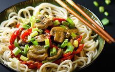 This easy mushroom stir fry is loaded with bold, savory flavor.
