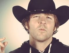 Ambrose in a cowboy hat...interesting