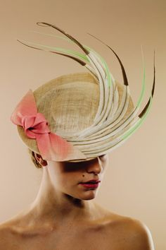 Awon Golding Millinery, S/S 2014. #passion4hats