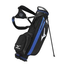 Golf Club Bags 30109: 2017 Mens Mizuno Comp Stand Golf Bag Black 4-Way Top -> BUY IT NOW ONLY: $124.95 on eBay!